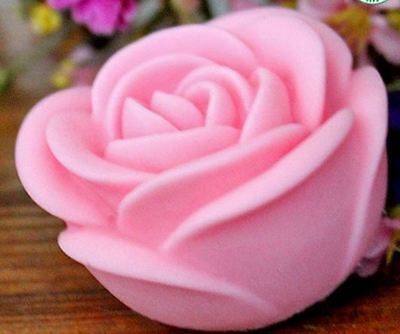 Rose Flower Silicone Candle, Soap Mould