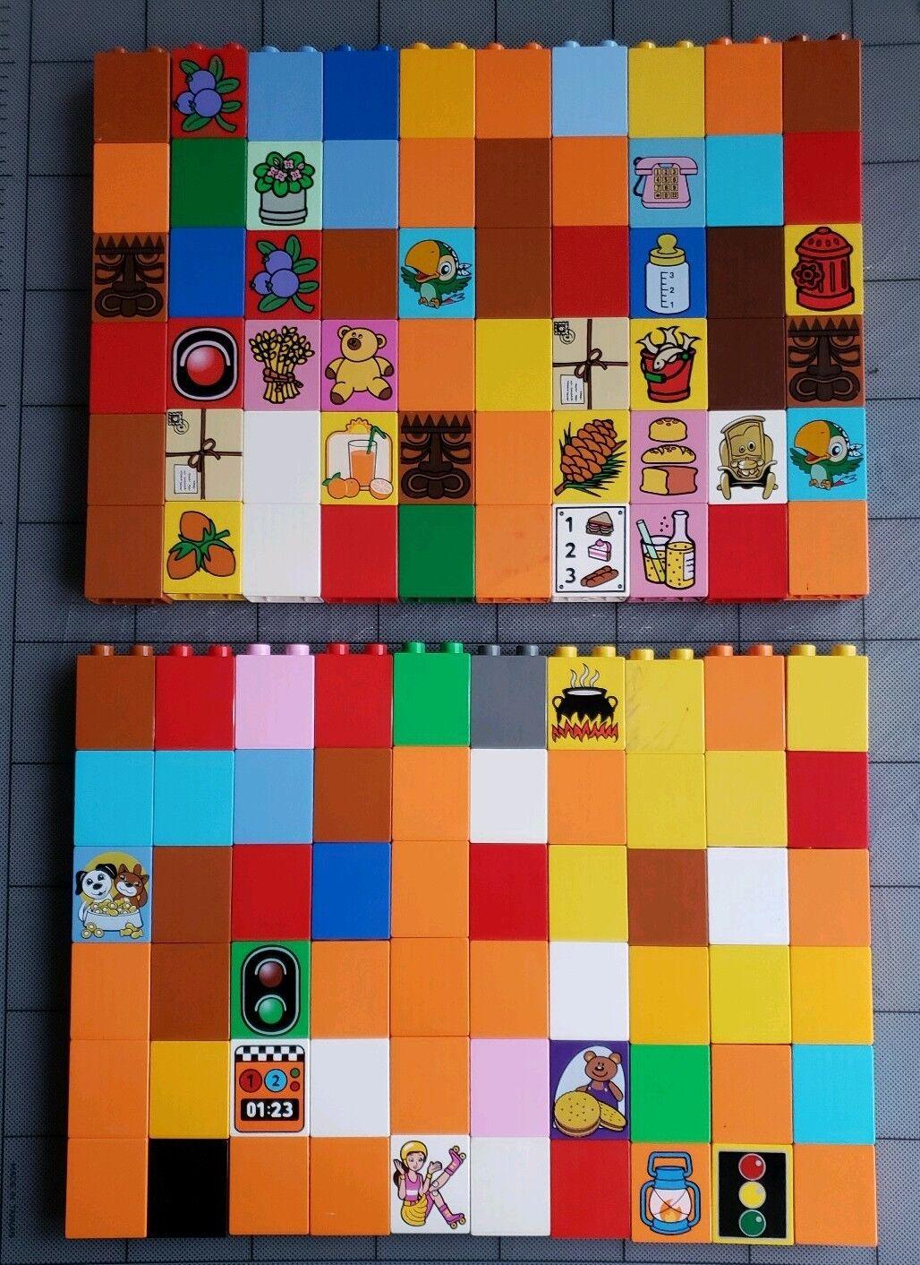 Duplo Lot Of 120 2x1x2 Premium Premium Premium Printed Pieces Mixed Assorted 2 X 1 X 2 D192 ecd7f5