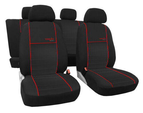 Für Opel Astra K ab 2015 paßgenaue Sitzbezüge Design TREND-LINE in 6 Farben.