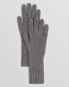 Burberry-London-Men-039-s-Gray-Cashmere-Rib-Knit-Gloves-GREAT-GIFT-NWT-215