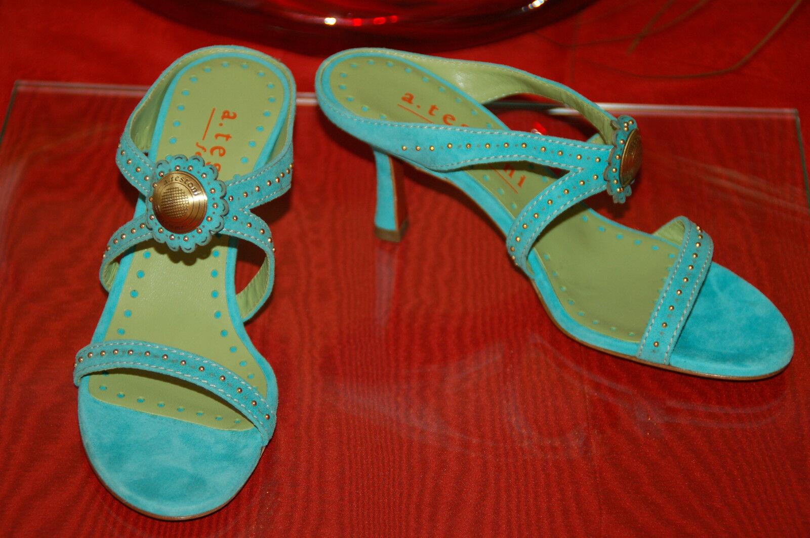A.TESTONI Femme Pumps ,Sandaleten,Heels, (NEU)