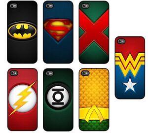 Case-for-iPhone-4-5-amp-s-Superman-Batman-Flash-Aquaman-Green-Lantern-Wonder-Woman