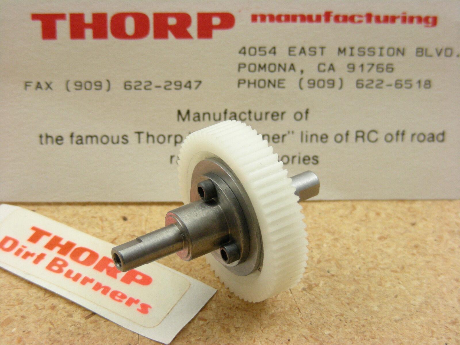 Vintage Thorp 5350 Traxxas Nitro Hawk Eagle Azul Ball Diff diferencial Raro Nuevo
