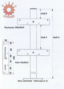 zaunpfosten zum aufschrauben zauns ule sichtschutz holzzaun balkonpfosten 0028. Black Bedroom Furniture Sets. Home Design Ideas