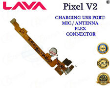 100% New LAVA PIXEL V2 CHARGING USB PORT / MIC / Viberator FLEX BOARD CONNECTOR