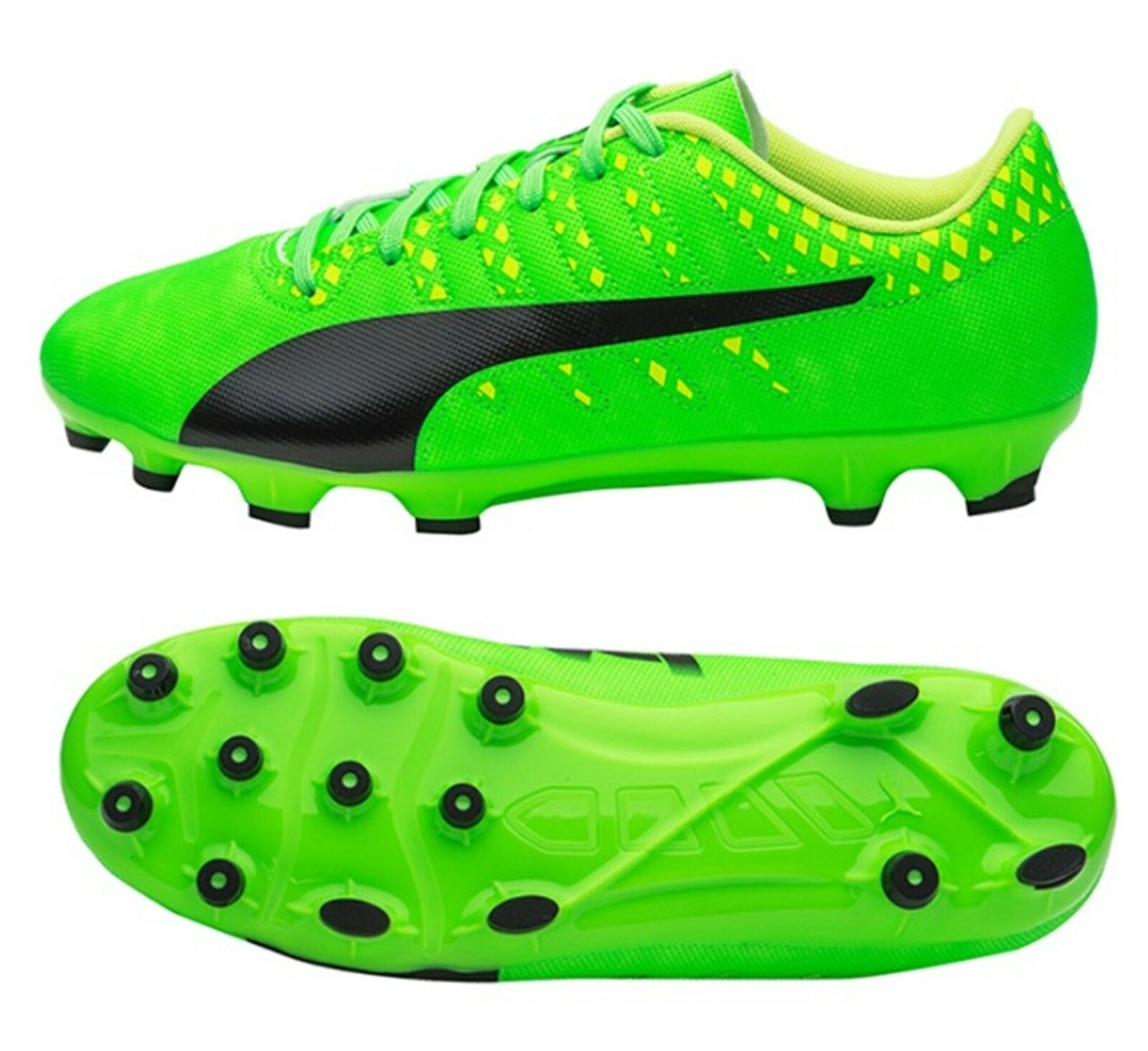 PUMA Men evoPOWER Vigor 4 AG Cleats Green Soccer Football shoes Spike 103964-01