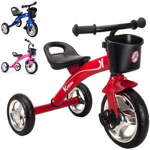 Kiddo 3 Wheeler Smart Design Kids Children Trike Tricycle