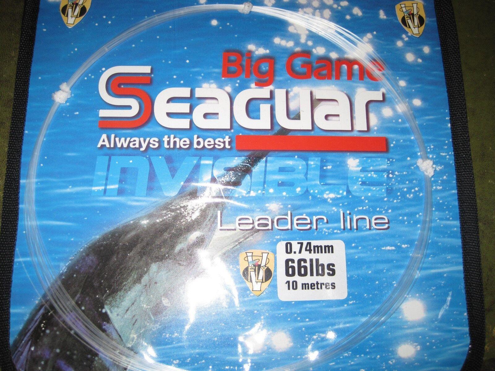 Seaguar Ace Hard Flugoldcarbon Big Game  Leader Line 66 to 250Lbs Coils  up to 50% off