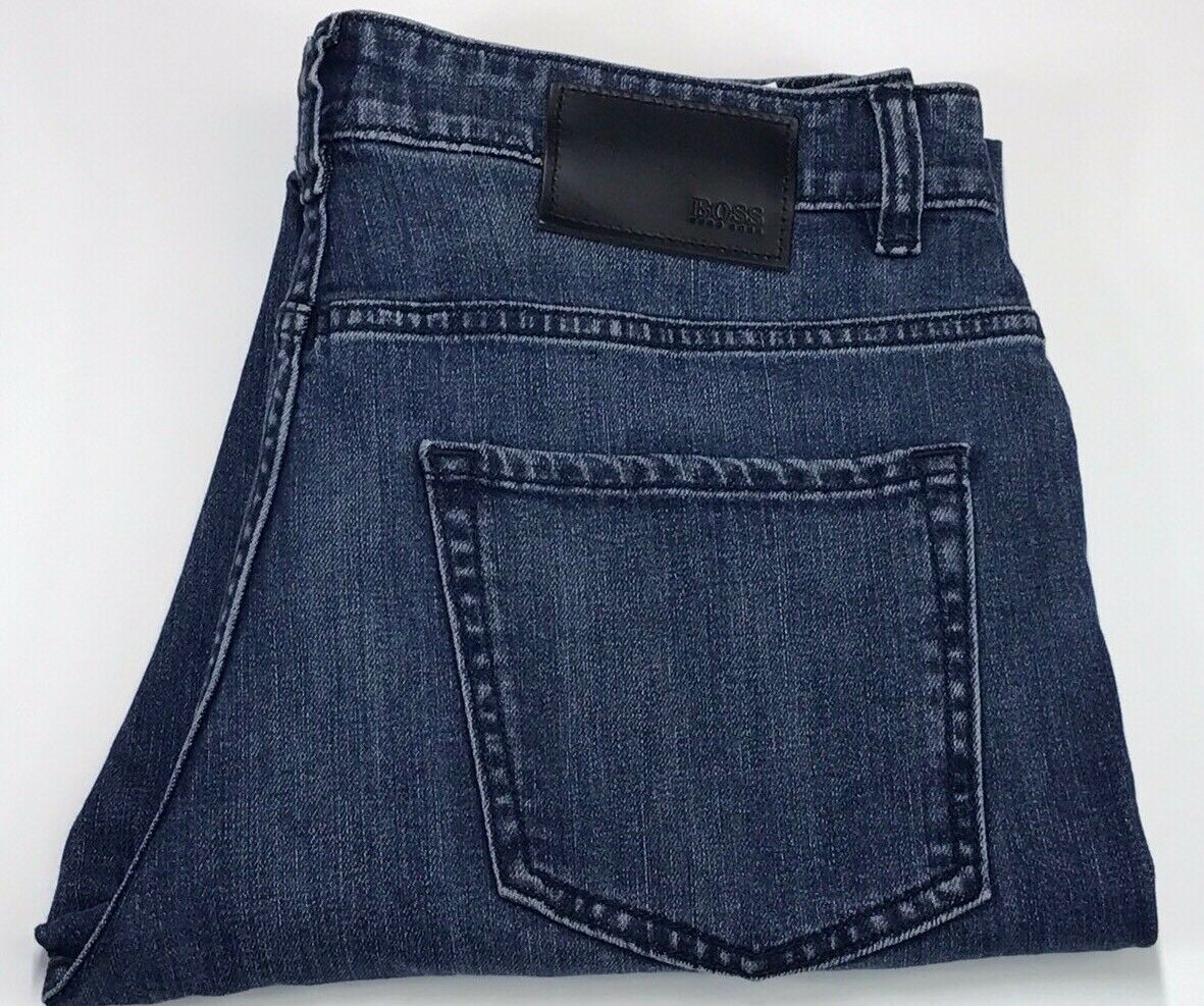 Hugo Boss Slim Fit bluee Stretch Jeans -Delaware 1