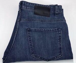 0152f091 Image is loading Hugo-Boss-Slim-Fit-Blue-Stretch-Jeans-Delaware-