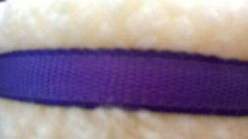 Bitless Bridle Attachement Violet Coussin Sangle Cob//Full