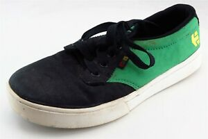 etnies Green Fabric Casual Shoes Boys Shoes Size 4