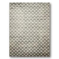8'x11' High End 100% Wool Tibetan Hand Knotted Designer Rug Modern 8x11 Gray