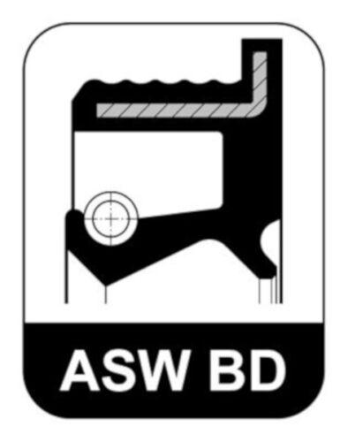 ELRING Wellendichtring Kurbelwelle für MERCEDES Stufenheck W123