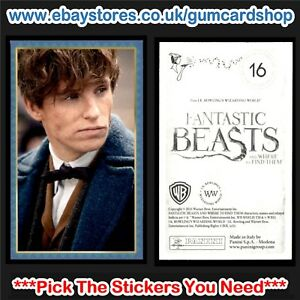 Panini Harry Potter Fantastic Beasts and Where To Find Them {select} Stickers