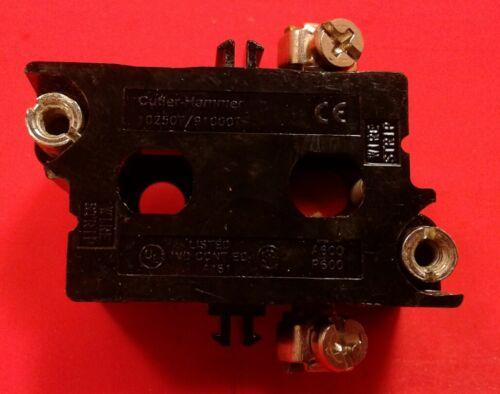 EATON//CUTLER-HAMMER 10250T51 1 N.C CONTACT BLOCK   4A
