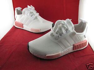 new arrival 16832 61578 Details about Adidas NMD R1 W White Icey Pink 3 4 5 6 7 All Sizes BY9952  SportsLocker