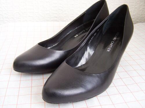 Uk nera Cartier alto tacco Scarpe 5 in misura pelle Roland con gqfHwvT