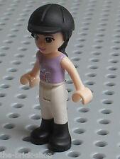 Personnage LEGO FRIENDS Minifig Emma / Emma's Horse Trailer Set 3186