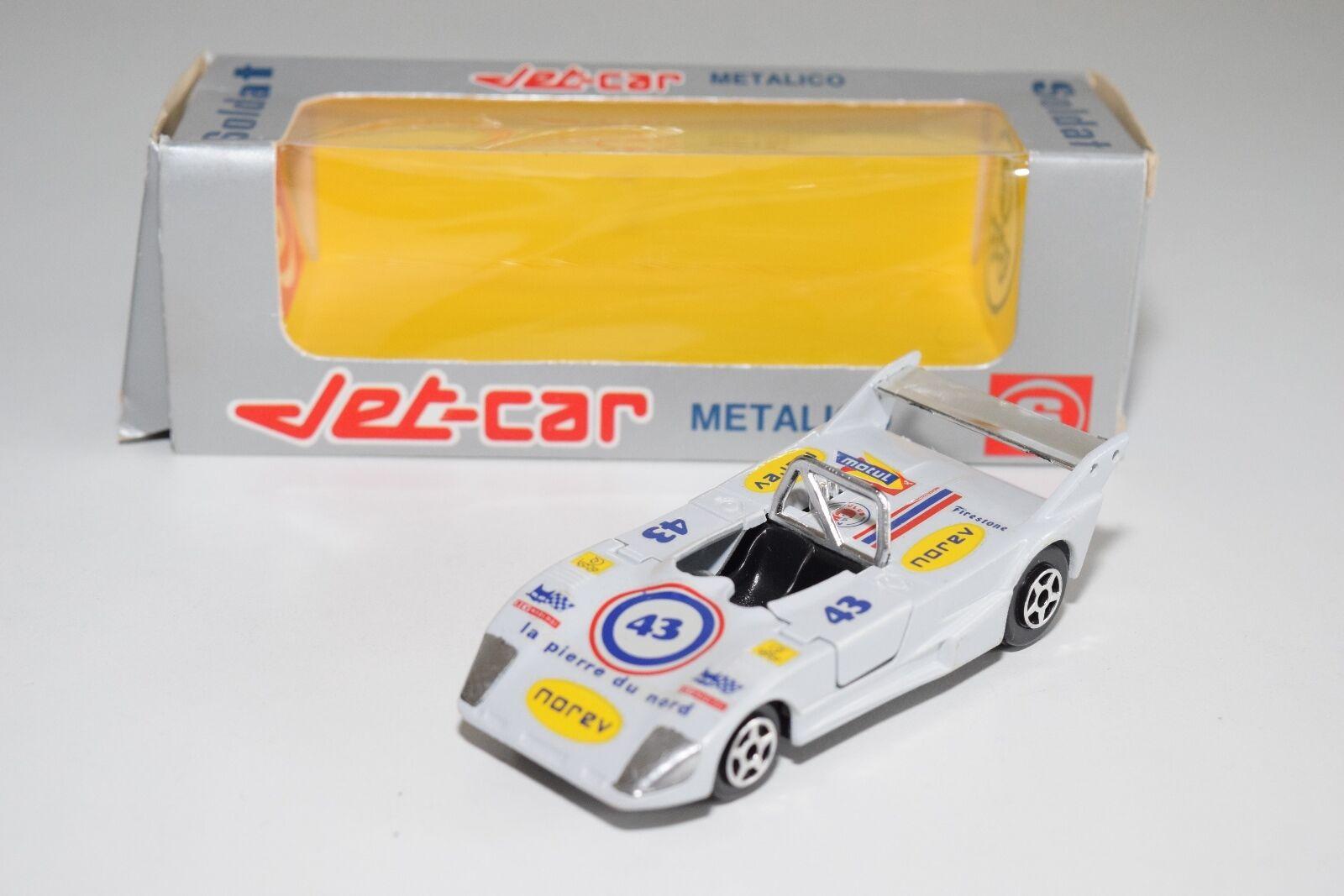 + NOREV JET-Coche SOLDAT SPANISH BOX 813 LOLA T 294 T294 MINT BOXED RARE