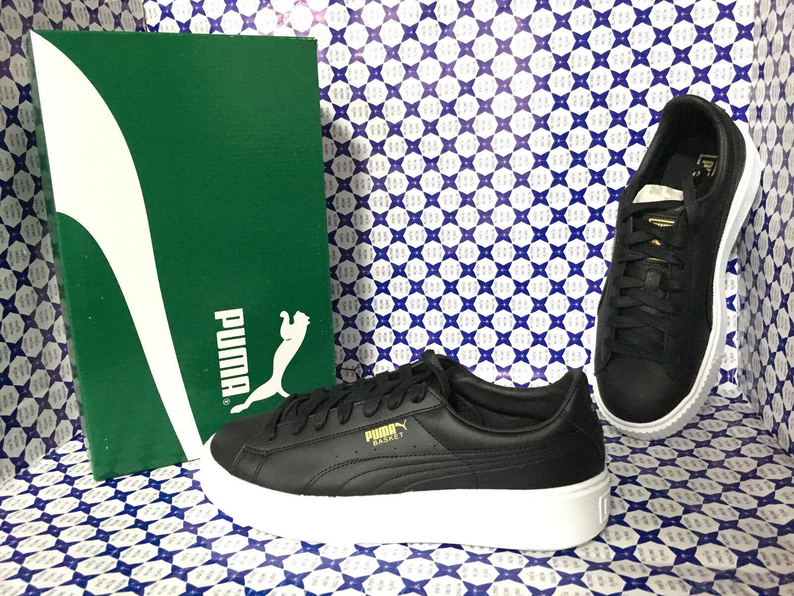 shoes Puma women SCONTATE   Basket Platform Core - black - 364040