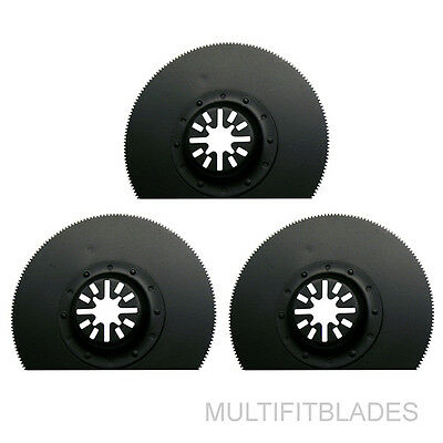 "3 x 2-1//2/"" Diamond Circular Oscillating Tool Blades Fein Multimaster Fit"