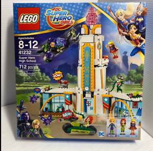 LEGO 41232 DC Super Hero Girls Super Hero High School Factory Sealed