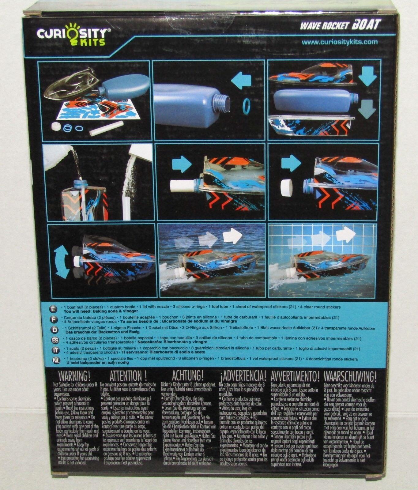 Orb Factory 72131 Wave Rocket Boat Curiosity Kits