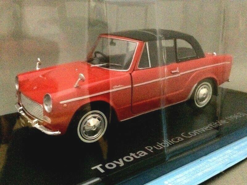 Toyota Publica Converdeible [1963] 1 24 Die-cast Model - Hachette Japan Cars  50