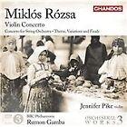 Miklos Rozsa - Miklós Rózsa: Violin Concerto (2012)