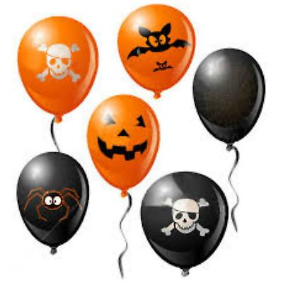 "10/"" inch PLAIN ballons Curling String Ruban Ballons poids Halloween Party Dec"