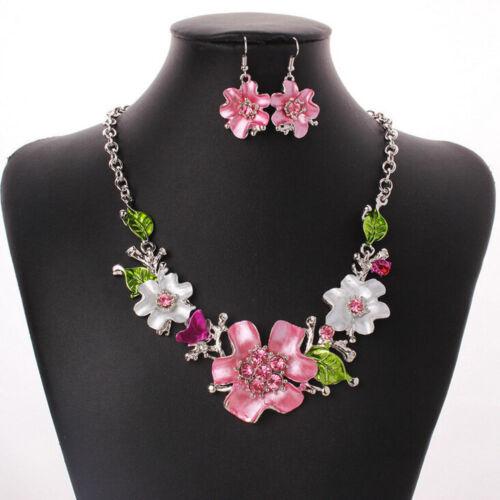 Charm Women Jewelry Pendant Choker Chunky Statement Chain Bib Necklace Fashion