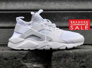 Détails sur Entièrement neuf dans sa boîte Nouveau Hommes Nike Air Huarache Run Ultra BR Trainer Triple Noir Blanc 9 10 11uk afficher le titre