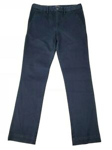 New-Polo-Ralph-Lauren-Boys-Navy-Blue-Chino-Dress-Pants-Size-10-Uniform