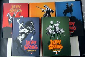 JERRY-SPRING-L-INTEGRALE-JIJE-DUPUIS-5-ALBUMS-NOIR-ET-BLANC-NEUFS