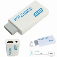 Wii Hdmi 720.1080p Hd Adaptateur Convertisseur Wii Vers Hdmi Pour Nintendo Wii