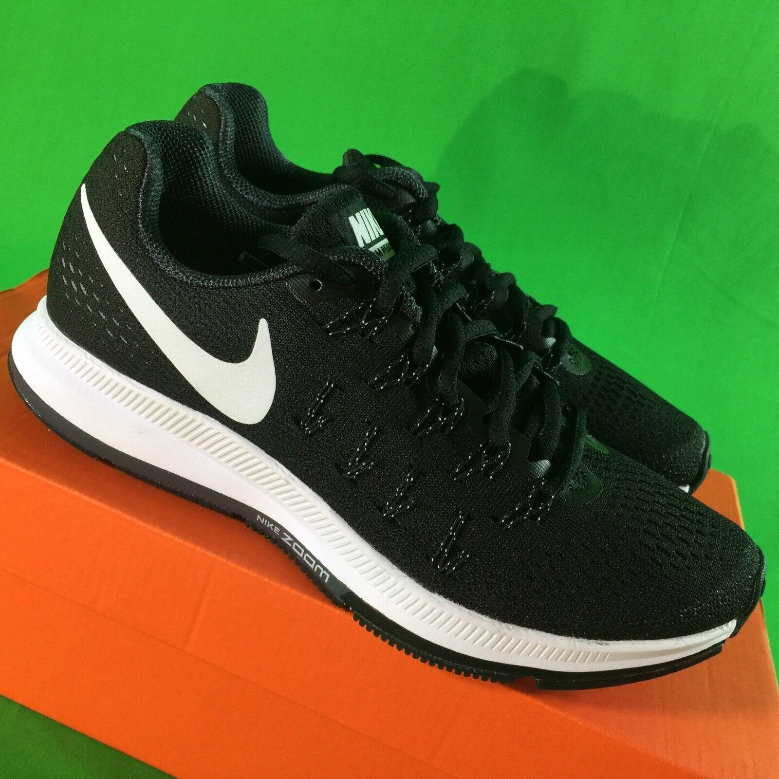 Nike air zoom pegasus 33 uomini e dimensioni delle scarpe nuove msrp nero pennino