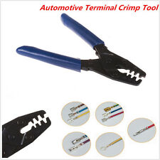Portable Car SUV Terminal Crimp Wiring Harness Terminals Crimping Tool 10-22 AWG