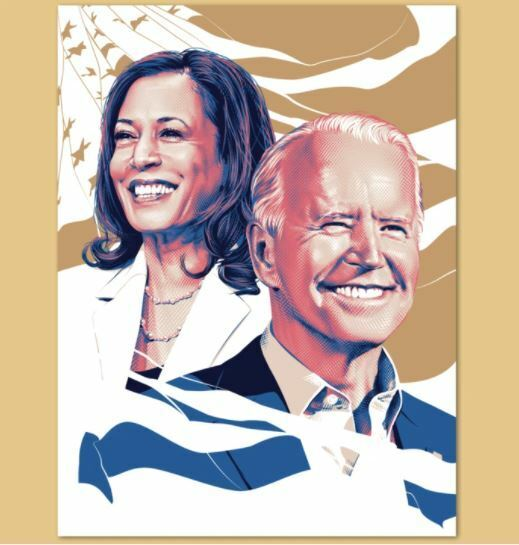 TRACIE CHING Official Authentic 2021 Inaugural Poster Print Joe Biden Harris on eBay thumbnail