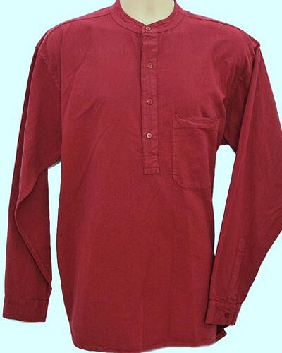 Grandad Shirt Original half //button Quality Classic design view all in10 Colours
