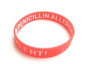 Medical Alert Bracelet Silicone