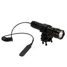 7W 940nm Radiación Infrarroja IR LED Noche 501B Visión Linterna+Monte Pistola