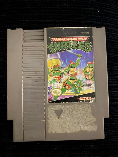 Teenage Mutant Ninja Turtles (Nintendo Entertainment System,1989) CARTRIDGE ONLY