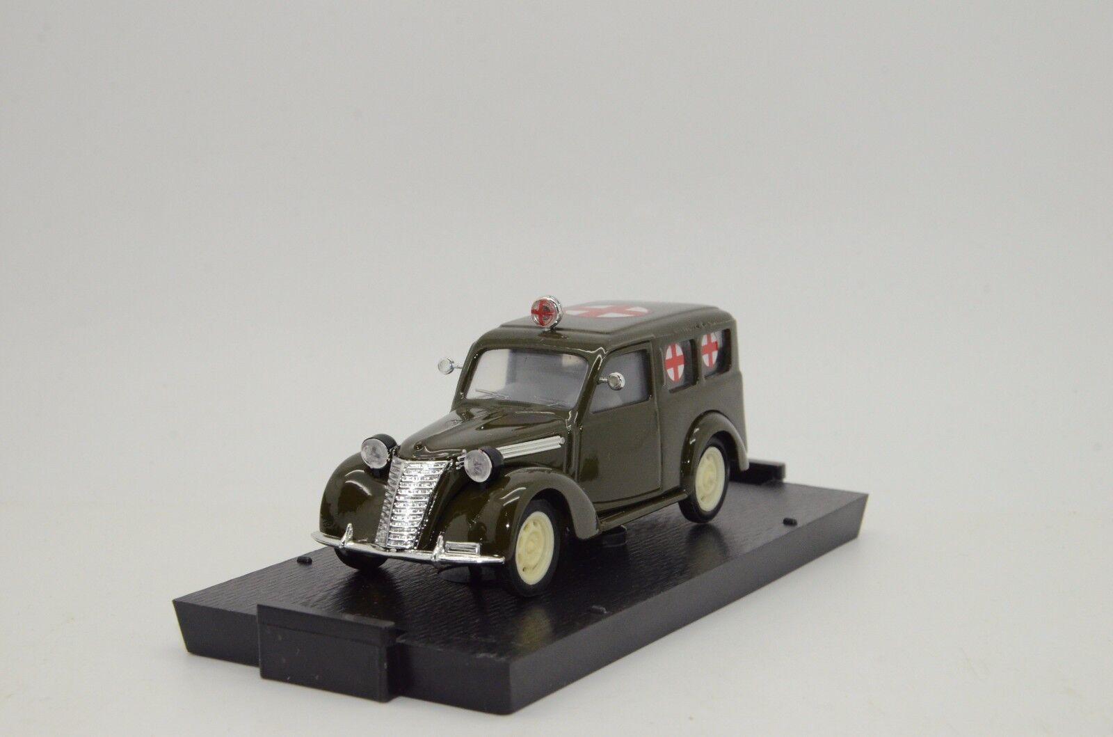 connotación de lujo discreta    rara rara rara    Fiat 1100 e ambulancia 1949-53 Brumm R180 1 43  80% de descuento