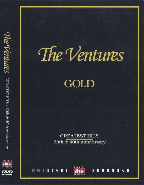 Il Ventures ORO - 30th & 40th ANNIVERSARIO 44 hits DVD NUOVO * Trasporto veloce *