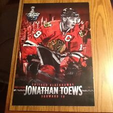 Jonathan Toews 2011 Stanley Cup Playoffs Poster