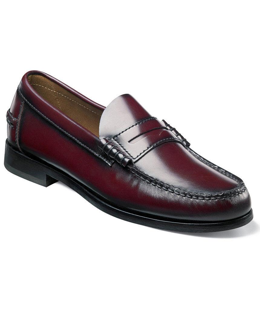 Florsheim Men's Berkley loafer leather Burgundy shoes 17058-05