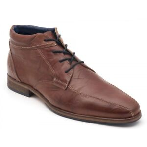 496-PARC-CITY-BOOT-Mens-BROWN-LEATHER-CHUKKA-CASUAL-LACE-UP-BOOTS-SHOES-9-5
