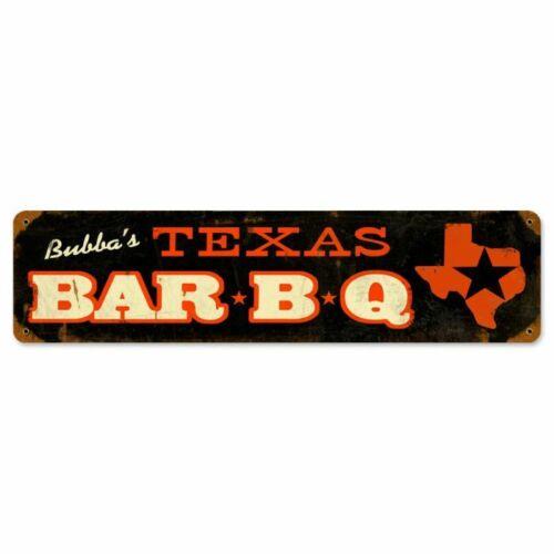 TEXAS BARBEQUE Blech Schild 51cm USA CAFE FOOD BAR DINER PUB Burger Grill Imbiss