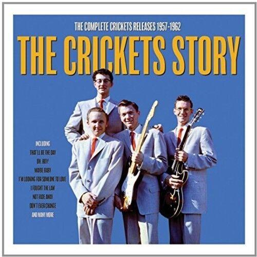 Story - 2 DISC SET - Crickets (2017, CD NEUF)